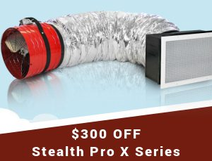 300 OFF Stealth Pro X Series