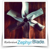 Zephyr Blade Fan