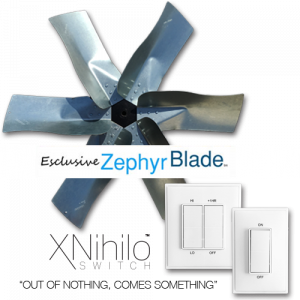 Exclusive Zephyr Blade Fan™