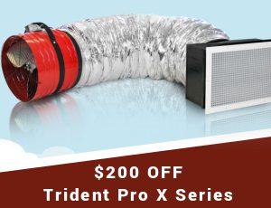 Quiet Cool Trident Pro X Series